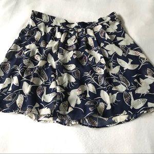 Old Navy Chiffon Print Gathered Skirt